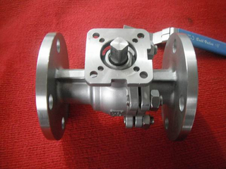 Cast Steel Floating Ball Valve with ISO 5211 PAD