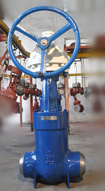 Cast Steel Pressure Sealed Gate Valve