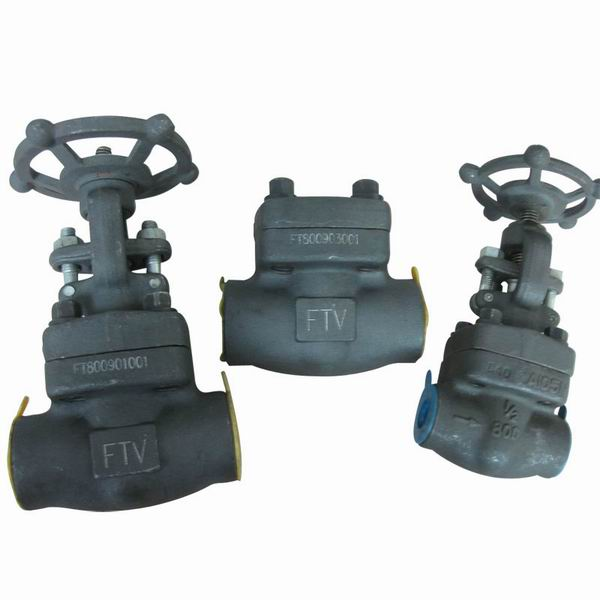 Forged Steel SW-NPT Globe Valve